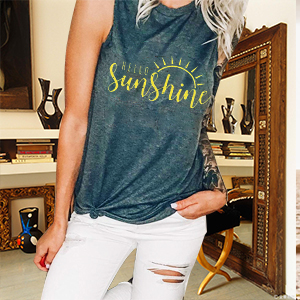sleeveless shirt women