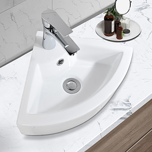 above counter sink