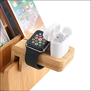 Exclusive Holder For Apple Watch And Airpods