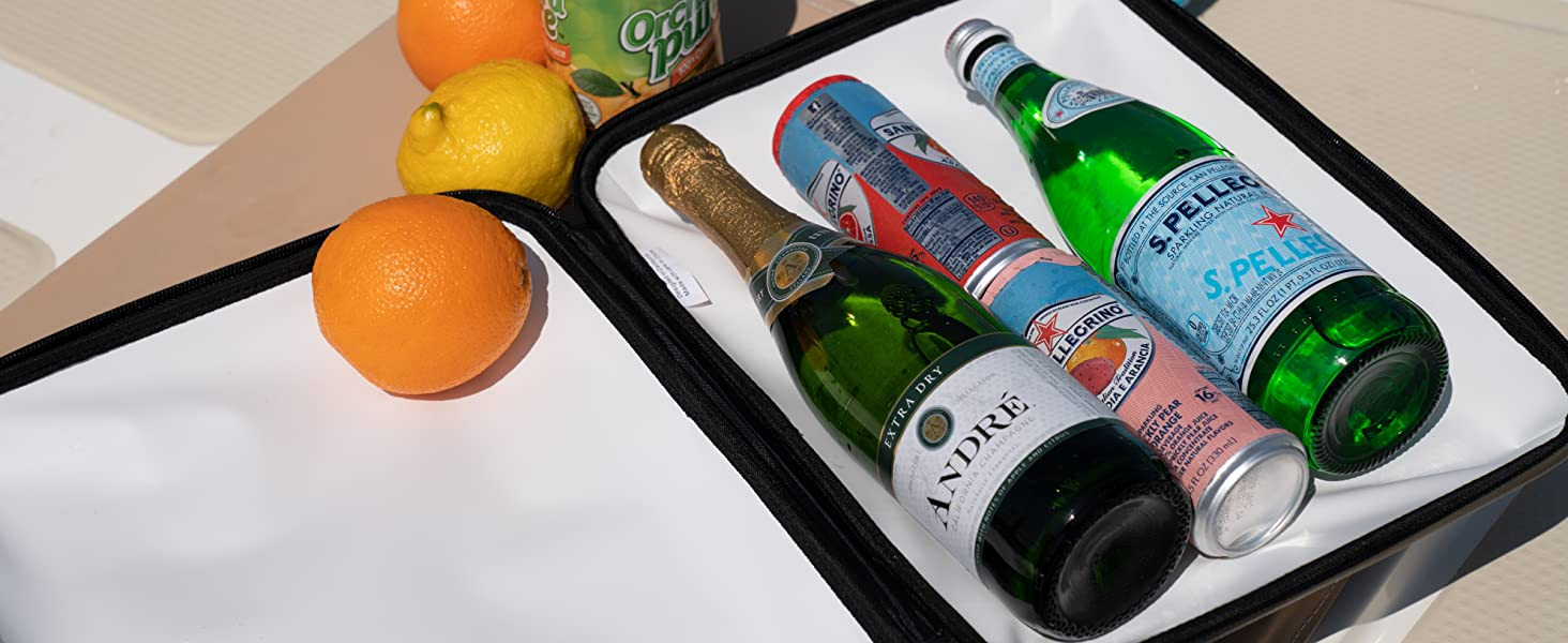 beer cooler travel wine case wine chiller portable ice chest