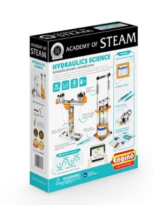 STEAMXF14 STEM Building Toy with Learning Activities /& Experiments Hydraulics Science: Hydrostatic Pressure /& Hydraulic Press Engino Academy of Steam Toys