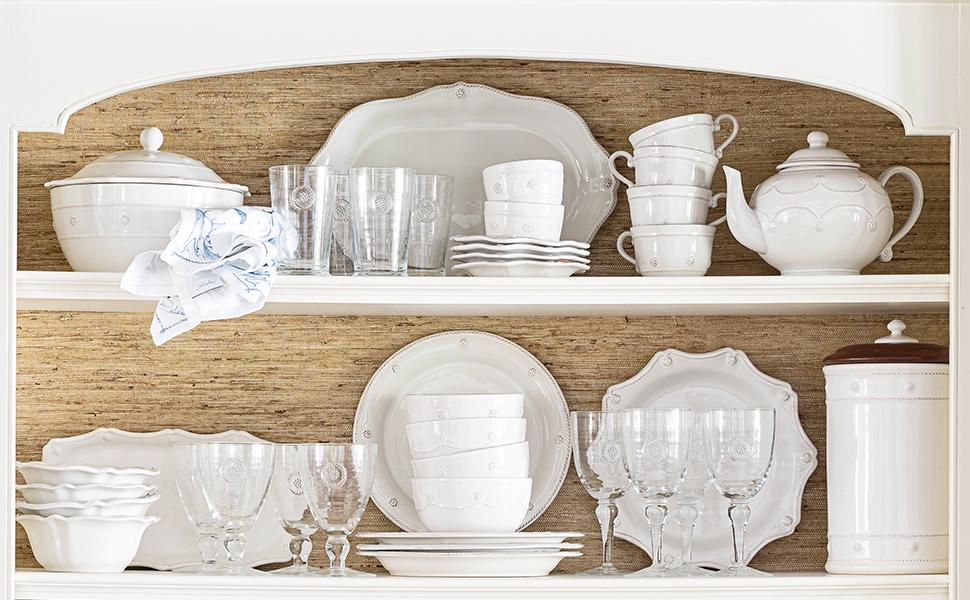 juliska berry and thread ceramic dinnerware