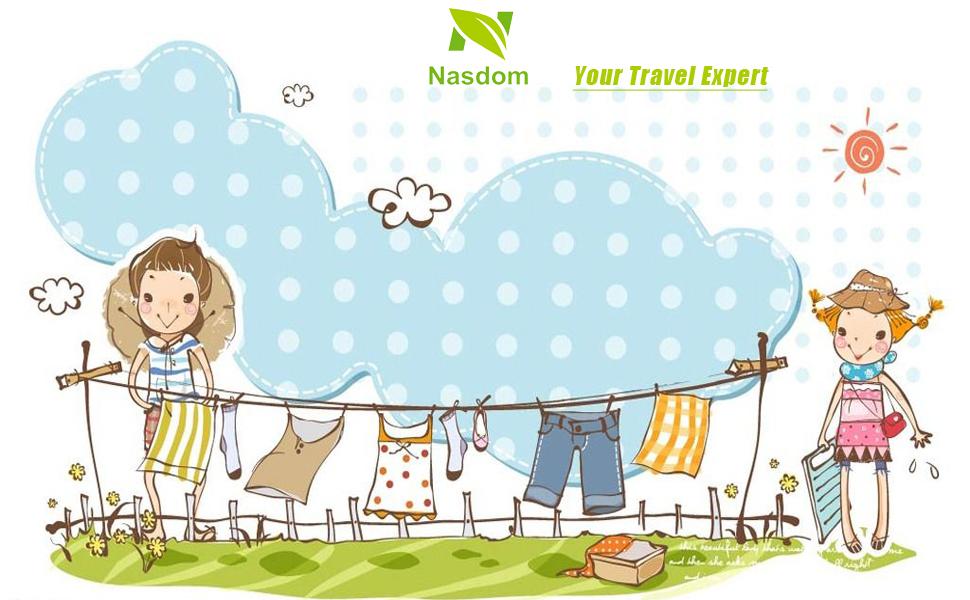Portable Travel Clothesline