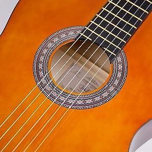 Especificaciones de la guitarra.