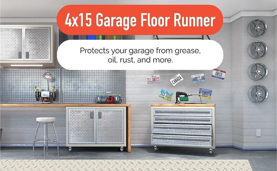 4x15 Garage Floor Runner