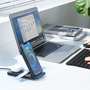 wireless charging staion for iphone