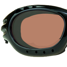 motorcycle biker goggles sun glasses shades hd blue blocker amber lens light strap foam blocks wind