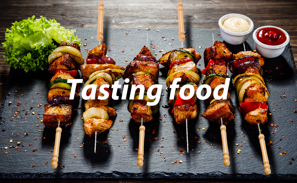 Tasting food Outdoor Camping Outings Cooking Tools