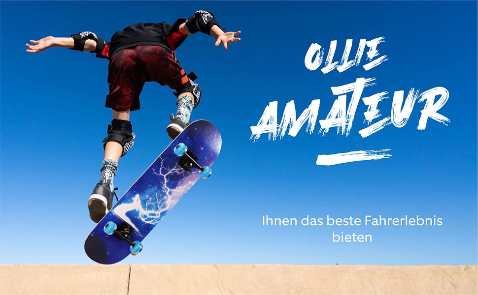 ollie skateboard