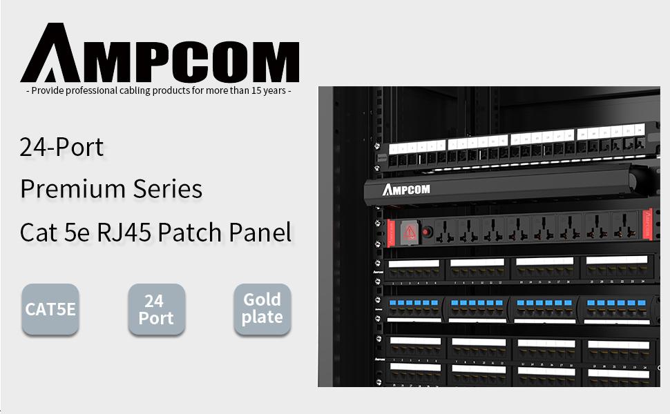cat5 568a wiring diagram printable amazon com ampcom premium series cat5 5e 24 ports patch panel  series cat5 5e 24 ports patch panel