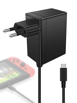 Cargador Nintendo Switch Kimood Cargador y Adaptador Nintendo ...