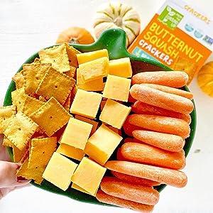 butternut squash crackers