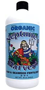 fertilizer plant food natural organic fish seaweed safe tomato vegetable fruit lawn plant