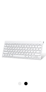 Bluetooth Keyboard with Number Pad