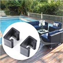 patio sectional with clips
