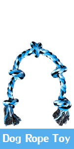 Dog Rope Toy for Aggressive Chewers, Super Large Durable Cotton Rope Toy for Large Powerful Dog