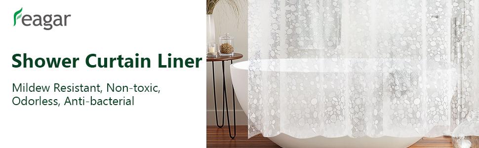 Feagar shower curtain