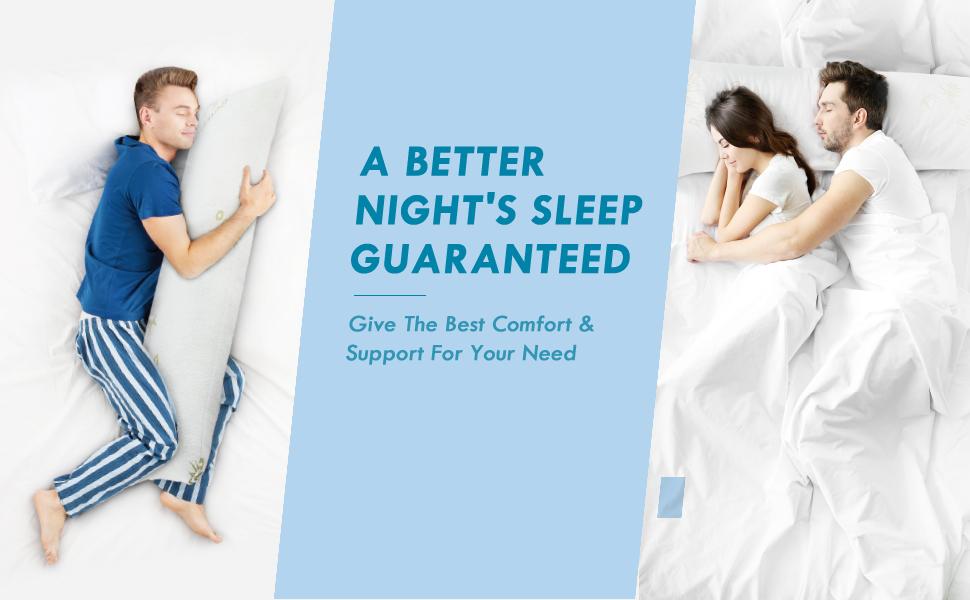 A BETTER NIGHT'S SLEEP GUARANTEED