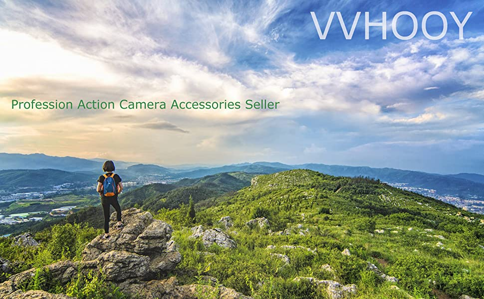 vvhooy action camera accessories