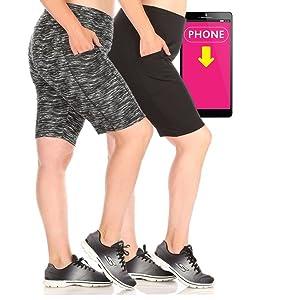 Plus Size biker shorts, plus size Yoga leggings,pocket leggings plus,Yoga bottoms,plus size biker