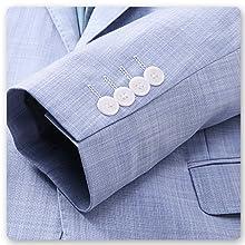 Mens 3 Piece Elegant Suit Set Dress 1 Button Dinner Blazer Tux Jacket Vest Pants