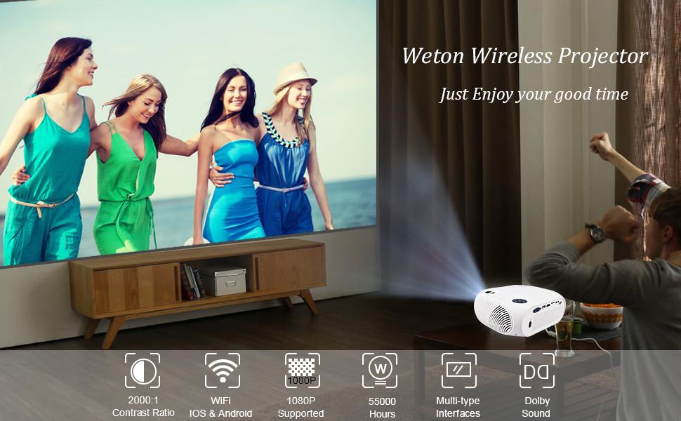 Wifi projector wireless