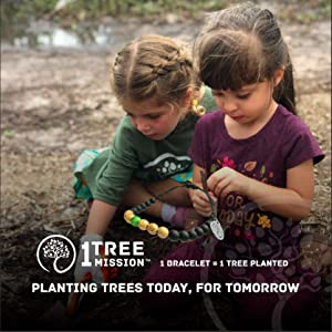 Children helping to plant trees at a 1 Tree Mission event in 2019