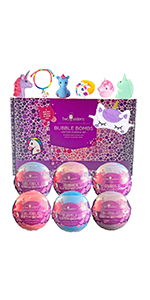 Unicorn  Bubble Bath Bombs Gift Set