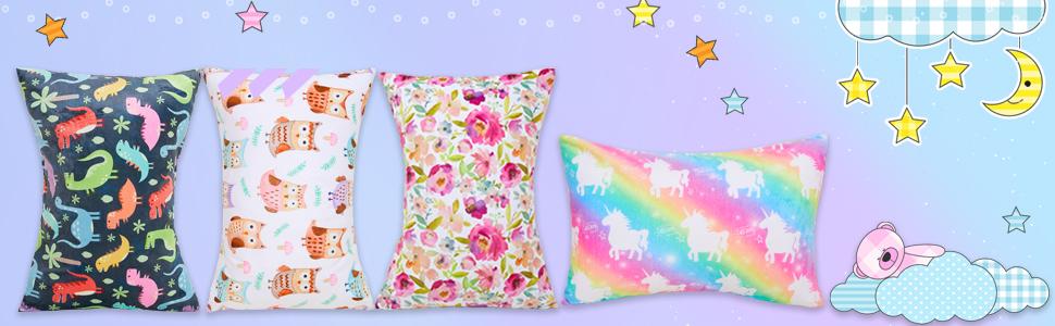Toddler Pillowcase for Boys and Girls