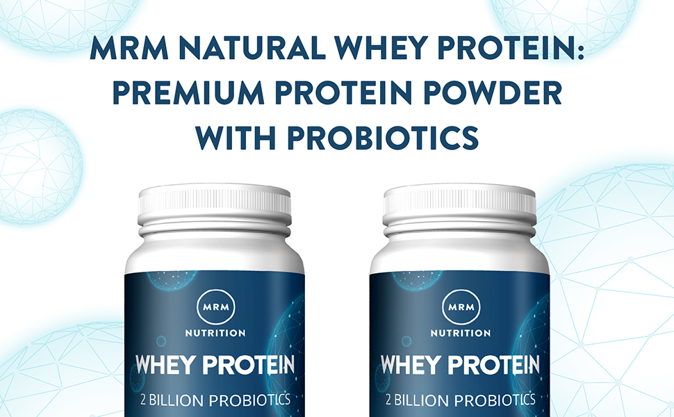 MRM All Natural Whey Protein Powder - 2 lbs - Dutch Chocolate - DailyNutriFood LLC
