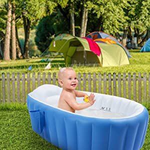 baby bath accessories outdoor inflatable pool life buoy towels support birth gift set