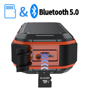 Bluetooth 5.0 Built-in Mic Hands-free features