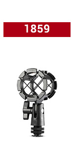 SMALLRIG Microfono Shock Mount Support 1859