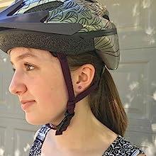 ComfyEarrings worn with helmet