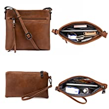 brown hobo purse