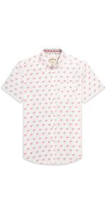 Men's Short Sleeve Cotton Printed Shirt