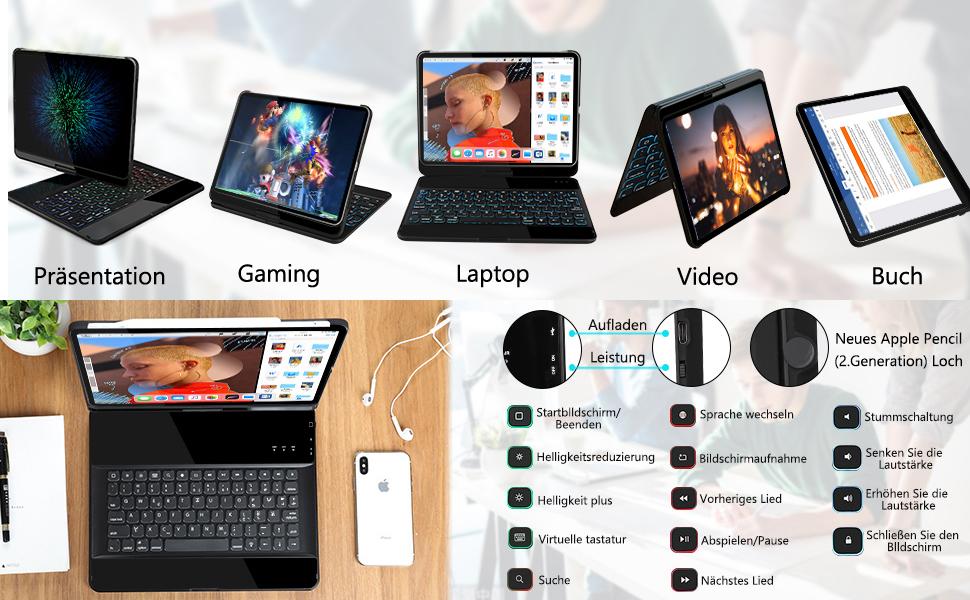 ipad pro 12.9 tastatur
