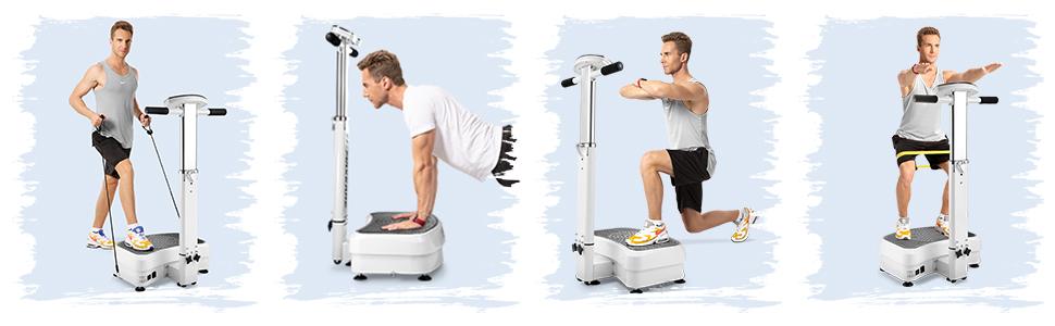 Vibration Platform Machine Vibration Plate Exercise Machine