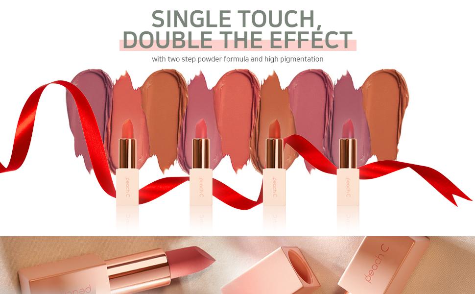 Peach C MLBB Lipstick 4color