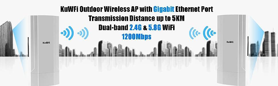 KuWFi outdoor wireless AP