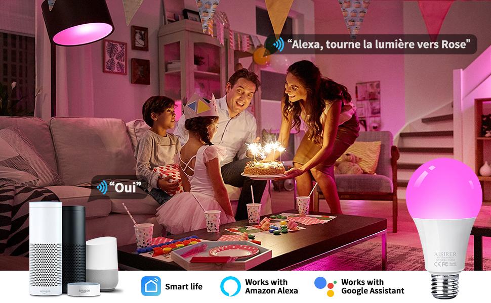 Ampoule WiFi LED