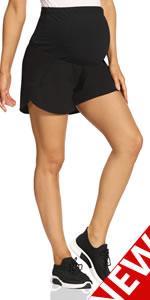 maternity active shorts maternity gym shorts maternity shorts for women maternity exercise shorts