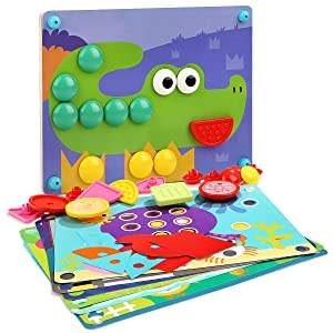wooden puzzle game for kids 2 3 4 5 years old