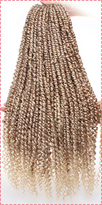 Pre-twisted Passion Twist Hair T27613#