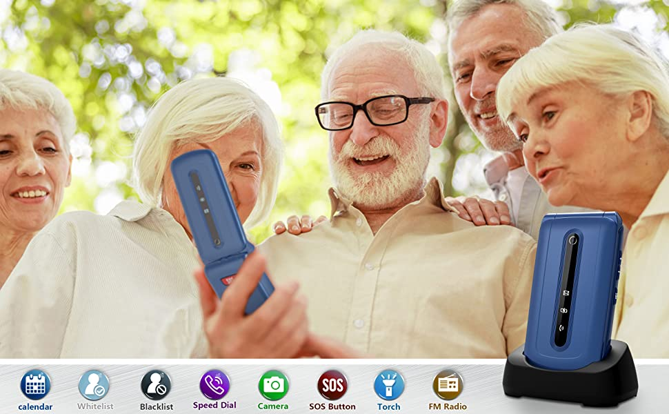 Ushining Flip Cell Phones