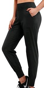 Jogginghose Sporthose Hohe Taille Lang Yoga Hosen Casual Sweathose