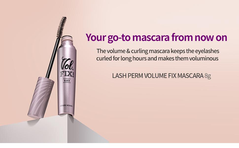 Lash Perm Volume Fix Mascara (Black)