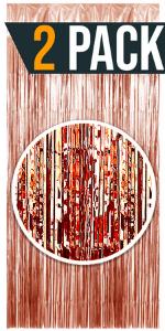 Rose Gold curtain