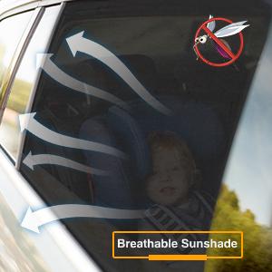 breathable sunshade for car
