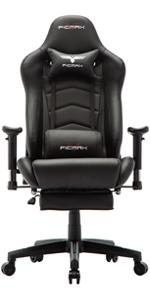 Ficmax black gaming chair